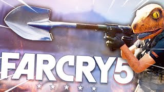 SHOVEL LAUNCHER !? THIS IS WHY I LOVE FAR CRY 5 !! (Co-op Funny Moments)