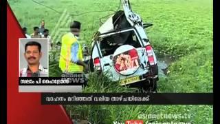 Car accident in Thrissur Puthukkadu Nandikkara; five dead | FIR 6 Nov 2015