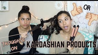 THOUGHTS ON KARDASHIAN BEAUTY PRODUCTS!!