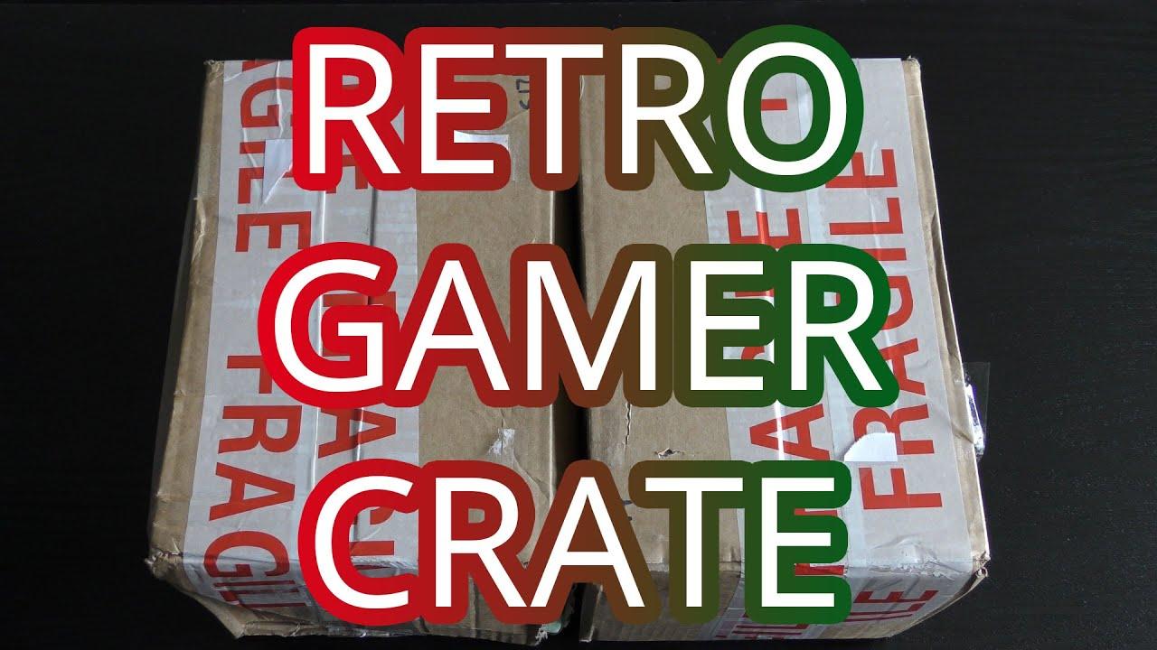 Retro Gamer Crate Paczka Z Grami Retro Youtube