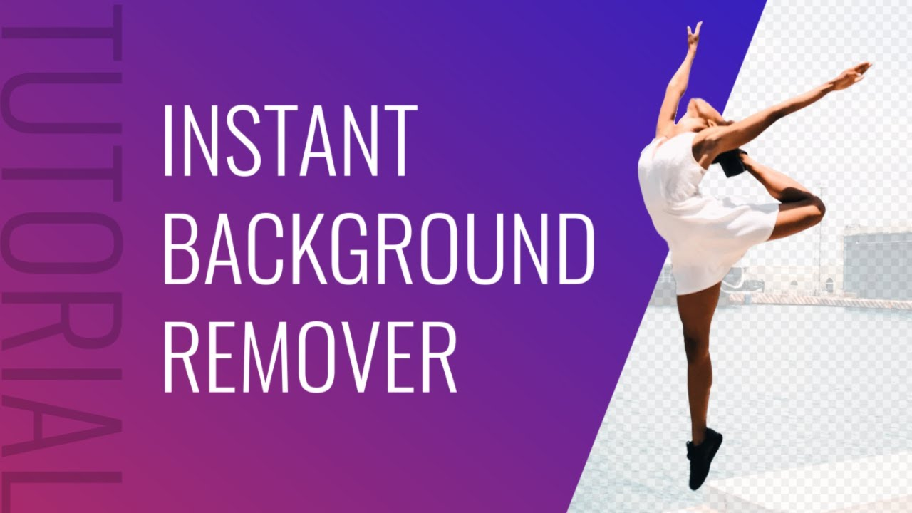 How To Instantly Remove Your Background | One Click