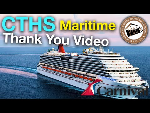 CTHS Maritime - A Thank You Message to Carnival Cruise Line and Business Partners