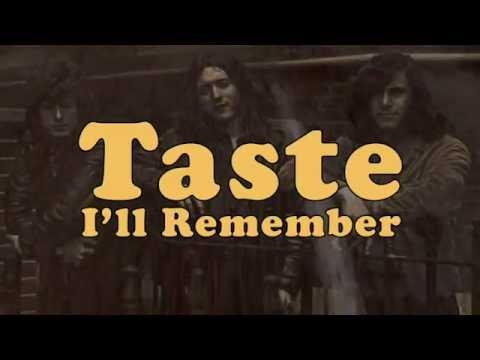 Rory Gallagher's Taste - I'll Remember