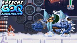 Mega Man X4 by Qttsix in 41:28 - AGDQ2020