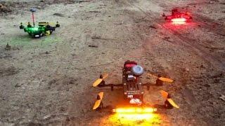 Watch high-speed drone race