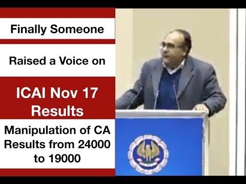 The Man Who Raised a Voice on Nov 17 CA Results | Manipulation from 24000 to 19000 l Dr.Suneel Maggo