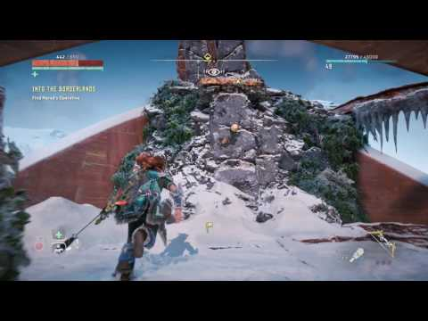 Horizon Zero Dawn Secret Quest Ancient Armory How to get Shield-Weaver Outfit