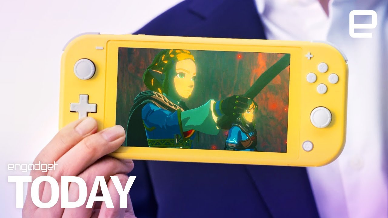Nintendo Switch Lite is $200 and handheld-only, and here's how it plays
