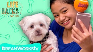 Dog Selfie Stick + Other Shaggy Hacks | LIFE HACKS FOR KIDS