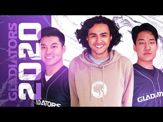 Gladiators 2020 Roster Reveal Youtube