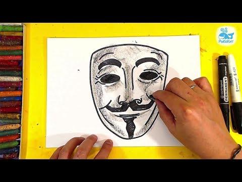 Как рисуют маски