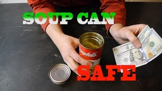 HOW TO MAKE A SECRET SOUP CAN SAFE