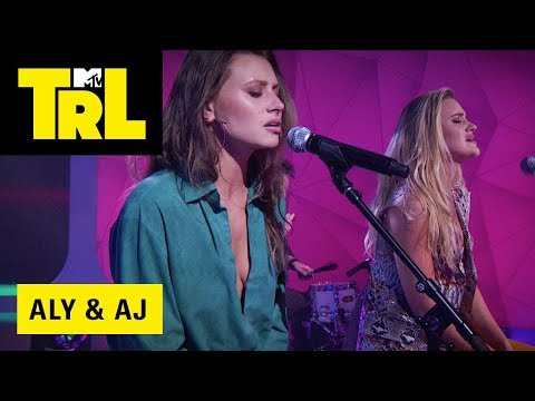 Aly & AJ Perform Promises  TRL Weekdays at 4pm