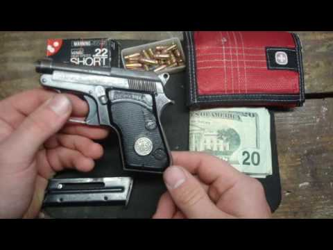 Beretta 950B Minx in .22 Short Auto Pocket Pistol