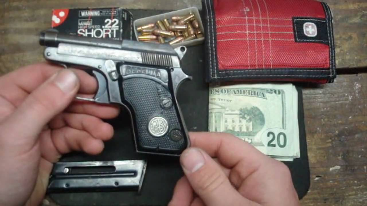 Beretta 950B Minx in  22 Short Auto Pocket Pistol