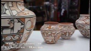 Claudine Halloo Zuni Artisin Potter