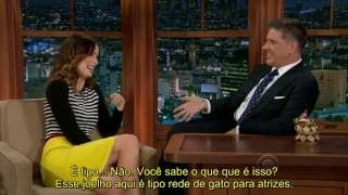 Craig Ferguson entrevista Olivia Wilde