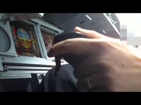 Airbus Cockpit Action - Landing (PFD and Sidestick View)