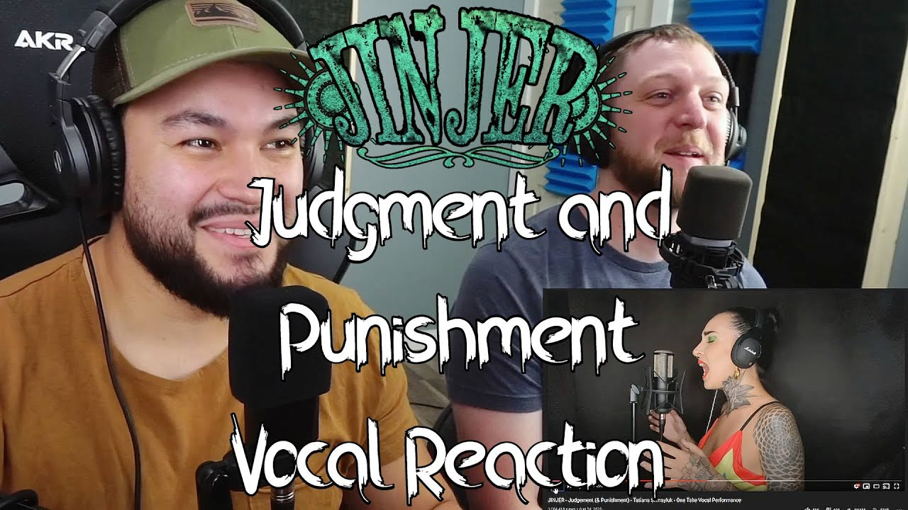 Jinjer (Judgement and Punishment) One Take Vocal Reaction!