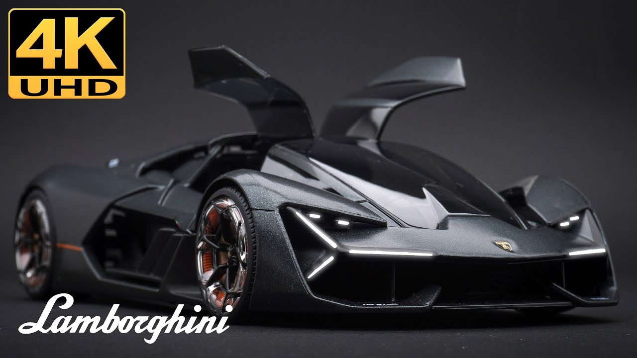 Download Lamborghini Terzo Millennio, 4K UHD - 1/24 Bburago