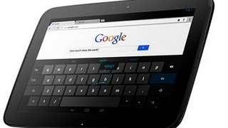 google nexus 10 tablet first impression review