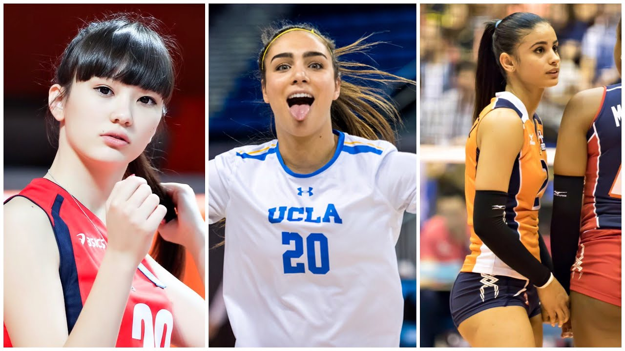 Top 10 Most Beautiful Volleyball Players 2019 Hd Youtube