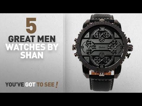 Top 10 Shan Men Watches [ Winter 2018 ]: OULM Men's 3233 Aviator Military Analog Japanese Quartz