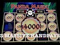(3) MASSIVE HANDPAYS ON DRAGON LINK ~ PANDA MAGIC AT MGM SPRINGFIELD SLOT MACHINES