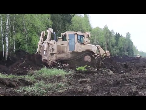 U.S. Army Engineers at Work in Estonia (HD)