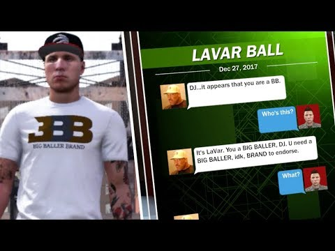 OFFER TO SIGN WITH BIG BALLER BRAND FROM LONZO BALL! NBA 2K18 My Career!