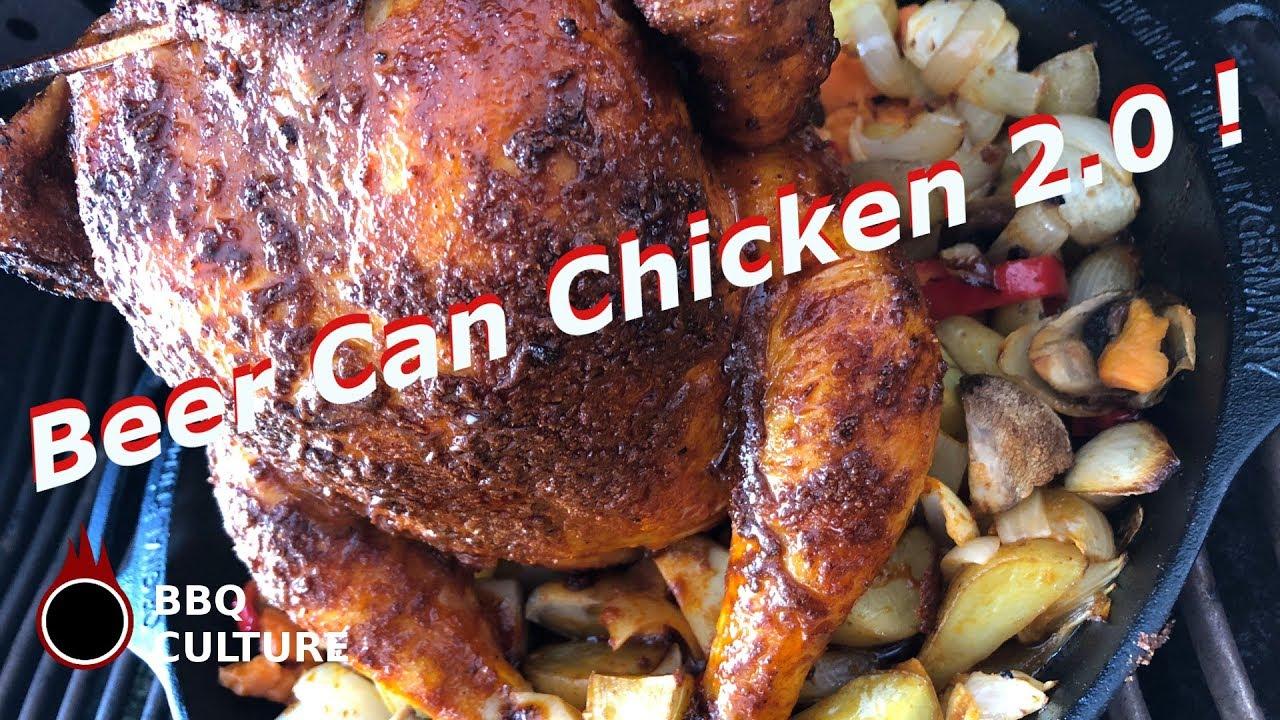 Chicken Gasgrill : Bbq culture beer can chicken 2.0 ein bierdosenhähnchen mal