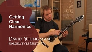 Tip 3: Getting Clear Harmonics