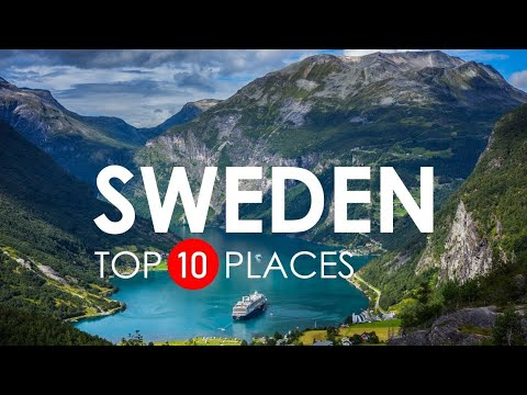 Top 10 Beautiful Places to Visit in Sweden - Sweden Travel Video