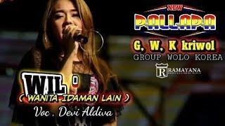 Wanita Idaman Lain WIL~Devi Aldiva  New Pallapa Live in Wolo