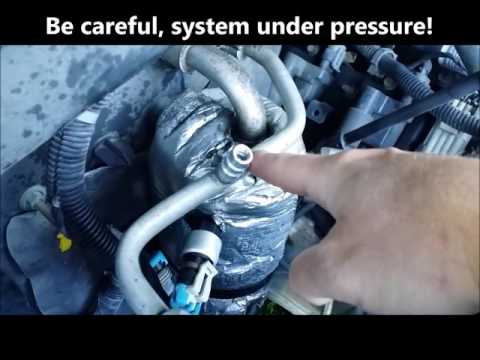How to Replace A/C Service Port Schrader Valve $4
