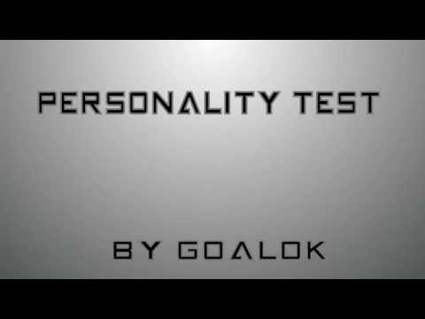 personality test funny test video