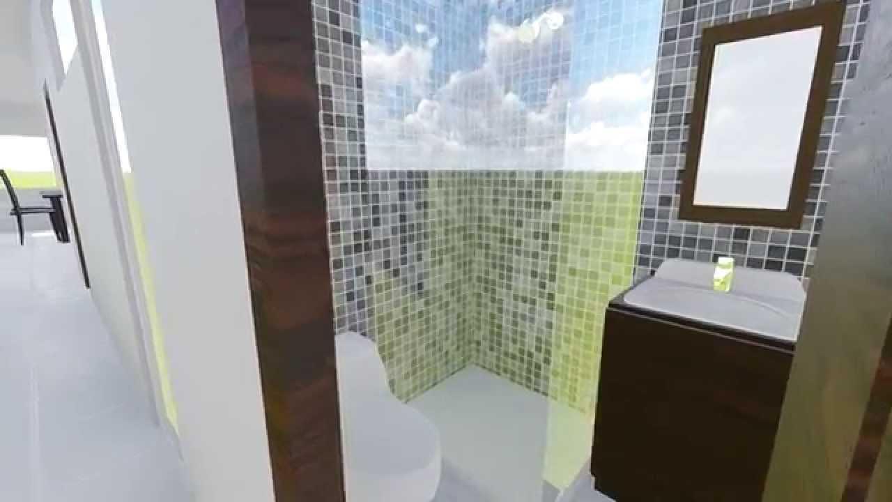 Dise o de casa segundo piso youtube - Diseno de pisos ...