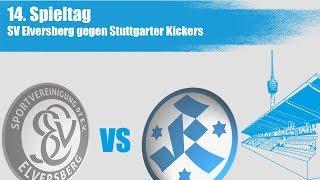 14. spieltag, sv elversberg vs. stuttgarter kickers - spielbericht