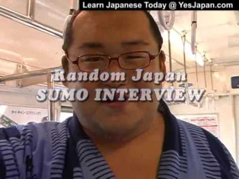 Japanese Travel - Sumo Interview