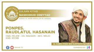 LIVE KAJIAN KITAB NASHOIHUD DINIYAH | 13 SEPTEMBER 2020 BERSAMA ALHABIB SYEKH BIN MUSTHOFA BA'ABUD