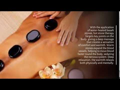With the application of water-heated basalt stones, hot stone therapy targets key points on the bod…