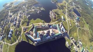 wingsuit skybase/православные святыни.Соловецкий монастырь(прыжок с парашютом над Соловецким монастырем., 2016-11-14T20:05:32.000Z)