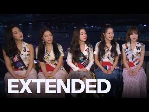 Red Velvet Talk &39;Peek-A-Boo&39; In Toronto  EXTENDED