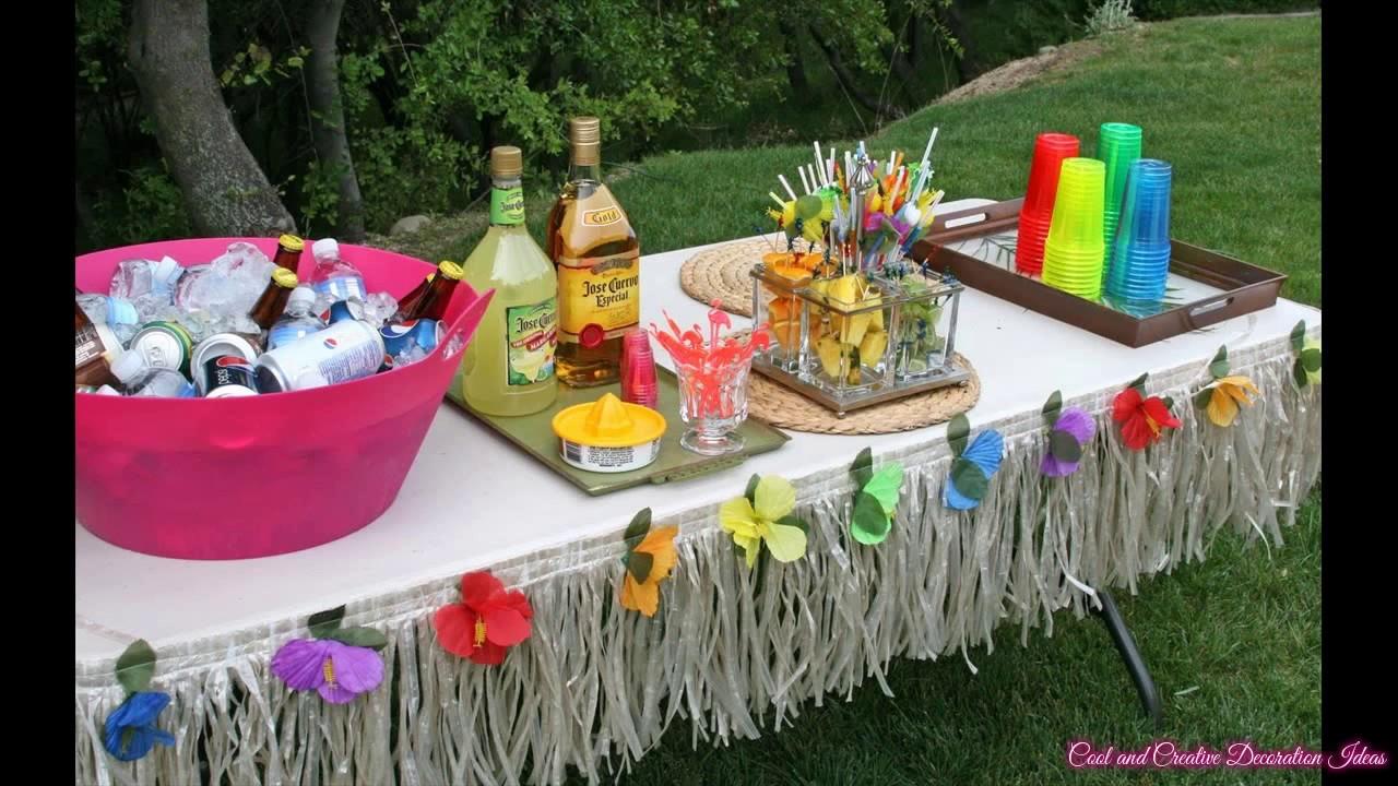 Diy Hawaiian Party Decorations Ideas