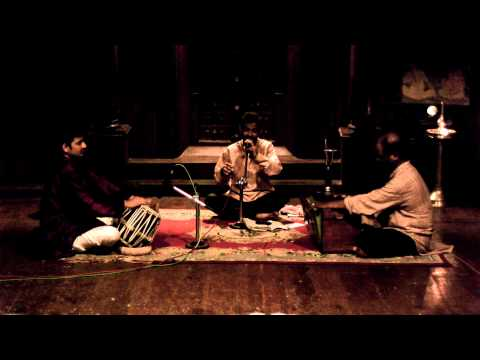 bhajan Live Music at the Kerala Kathakali Center in Cohi, India