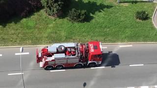 Пожарки И Cкорые Спешат На Помощь