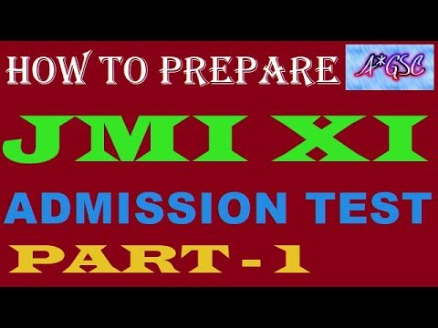 HOW TO PREPARE FOR JMI XI ENTRANCE TEST/TIPS & TRICKS
