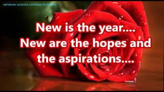 Happy New Year 2018 wishes Greetings whatsapp E card free download Animation Animated