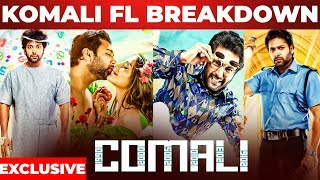 Komali Official First Look Breakdown by Designer Raja & Venkat