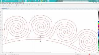 Corel Draw Tips & Tricks Greek Pattern clean up, a hard one! PART 1